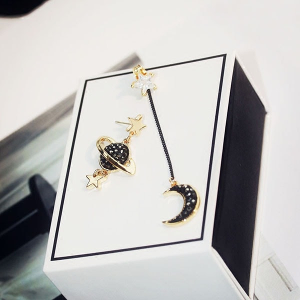 product image for Moon Star Planet Earrings