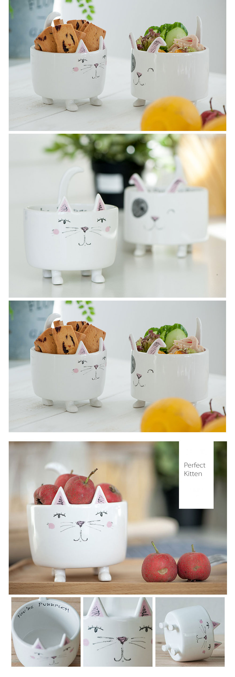 Q Animal Succulent Pots Multi-purpose Bowl