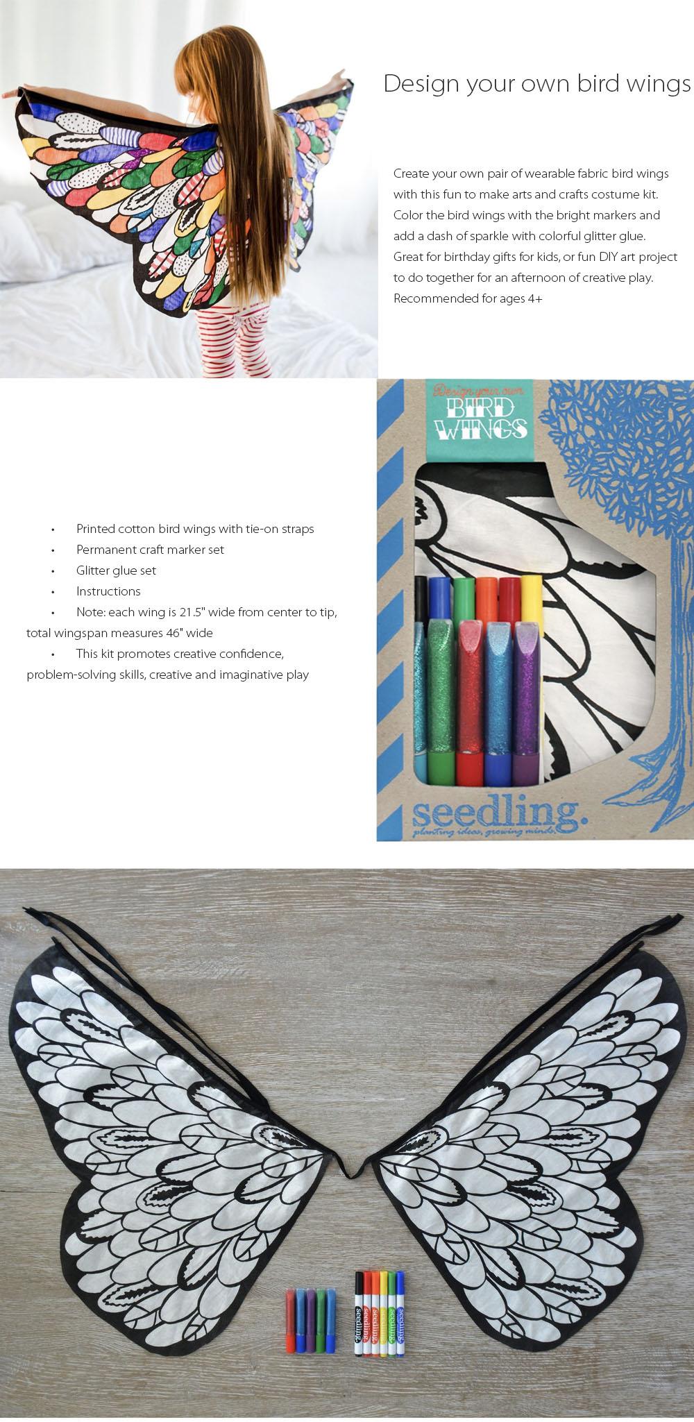 Design Your Own Bird Wings Apollobox
