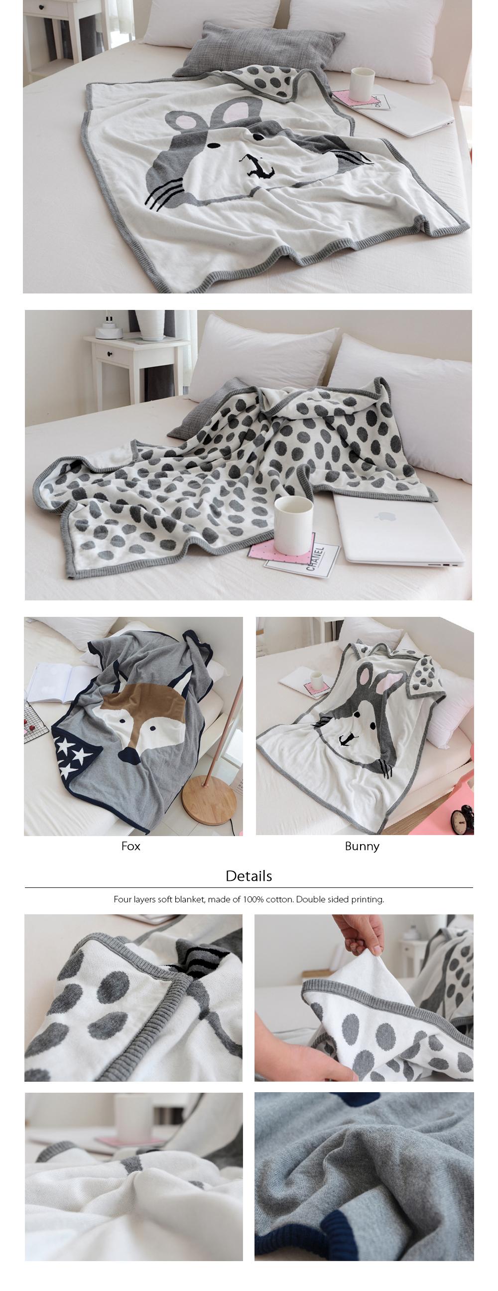 Cute Pillow Blanket Hand Warmer Combo Multipurpose Pillow