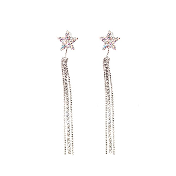 product image for Falling Star Tassel Earrings