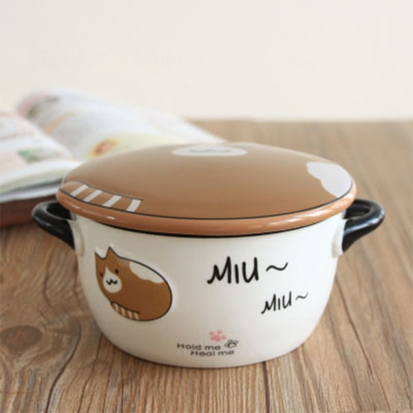 Cute Kitty Soup Bowl