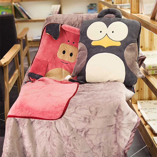 product image for Animal Travel Pillow Blanket Combo