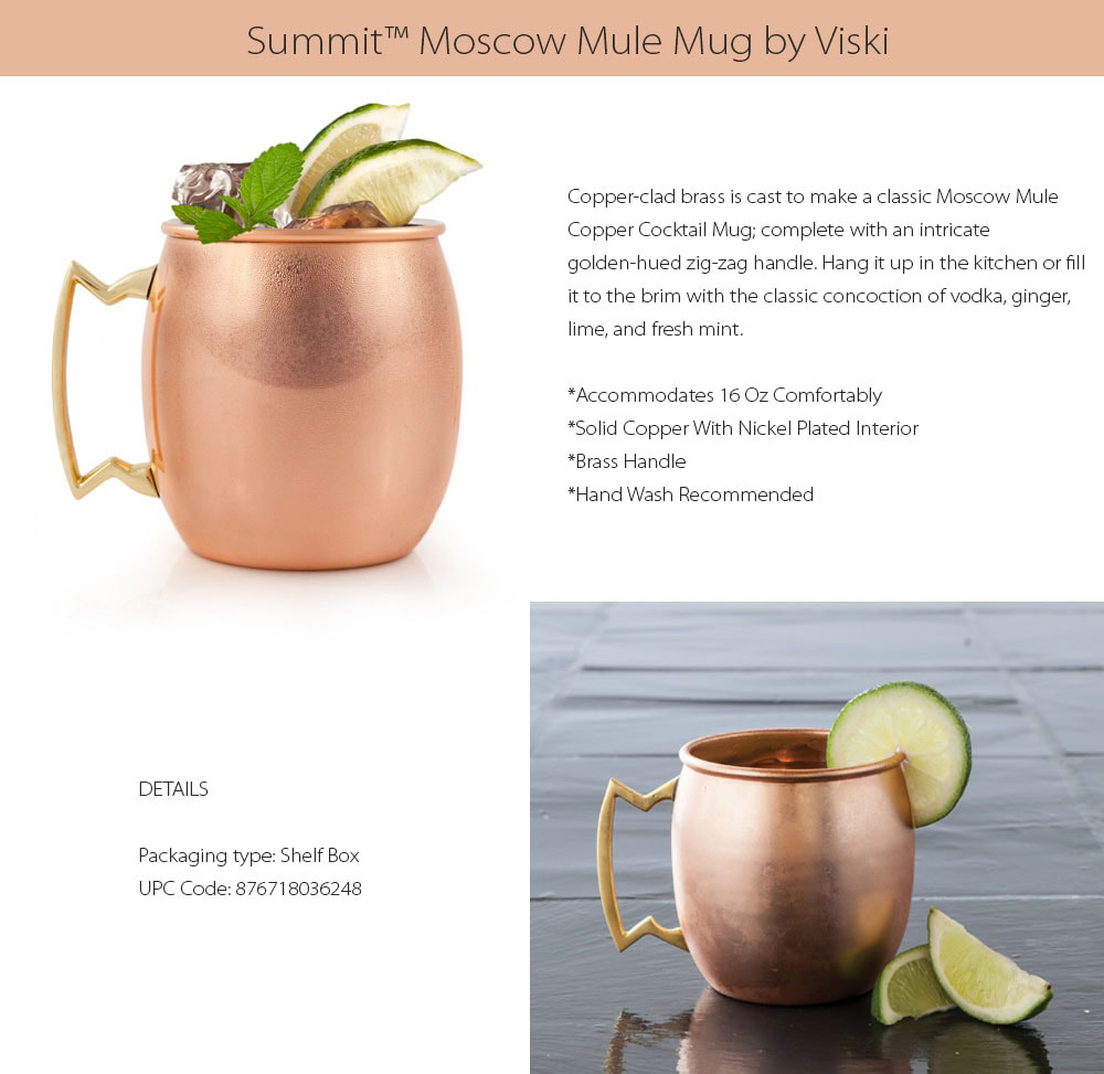 Summit Moscow Mug Copper-clad Mug