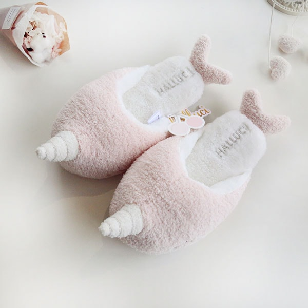 product image for Narwhal Plush Slippers