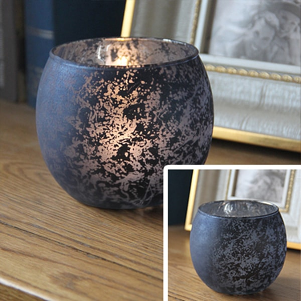 Flameless Glass Candle Holders