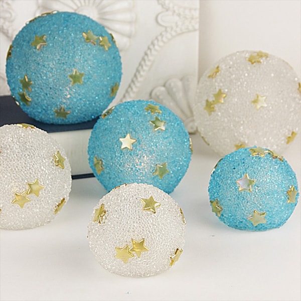 product image for Candlelit Textured Glass Spheres