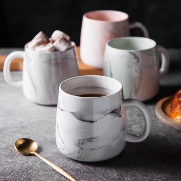 Marble Coffee Mugs