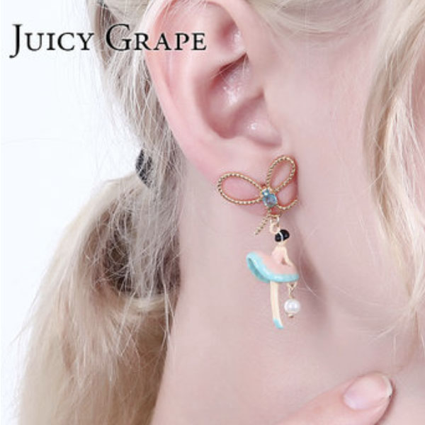 Dancing Figure Earrings II