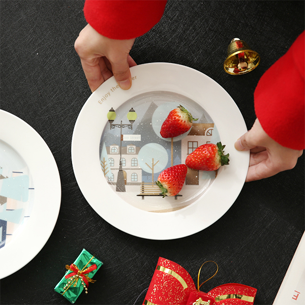 product image for Snowy Scenes Dinner Plate