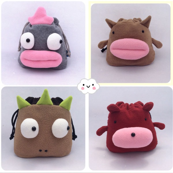 Mini Creatures Drawstring Bag