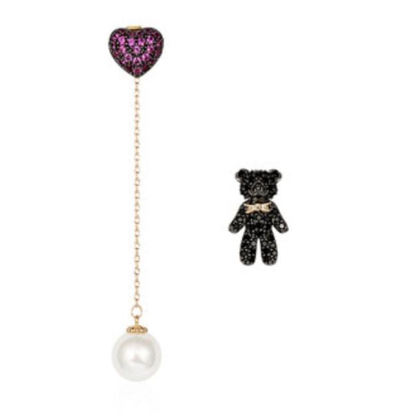 product image for Teddy Bear Love Earrings