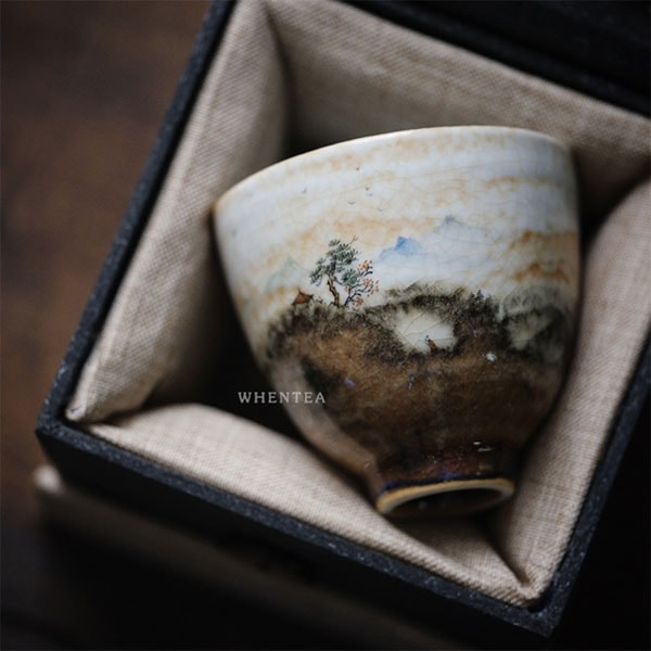 Hand Painted Japanese Teacup