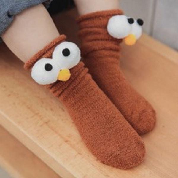 Big Eyes Toddler Socks