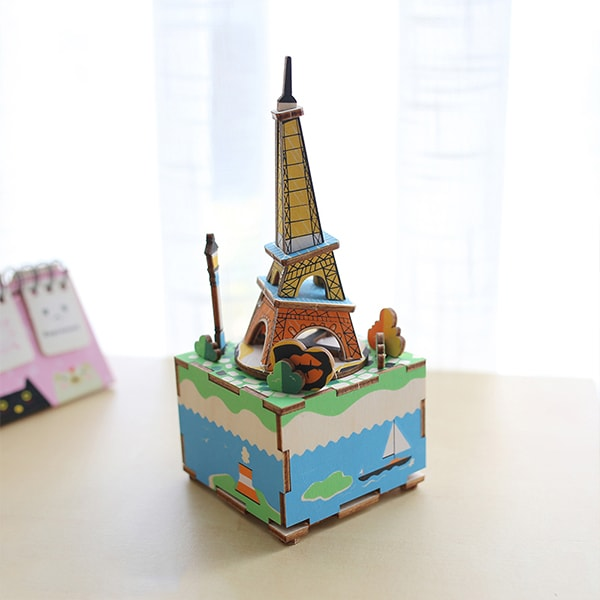 product image for 3D Wood Music Box