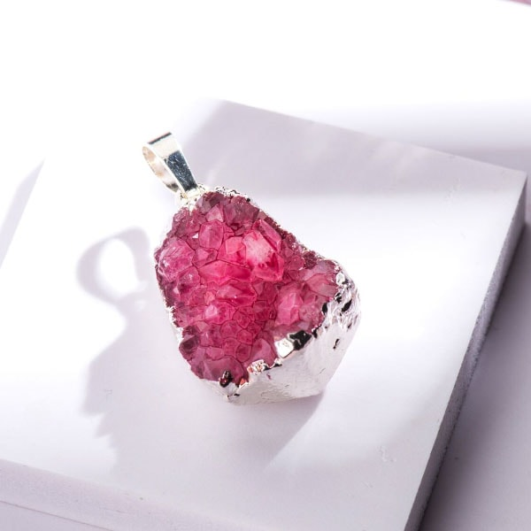 Rose Gemstone Pendant