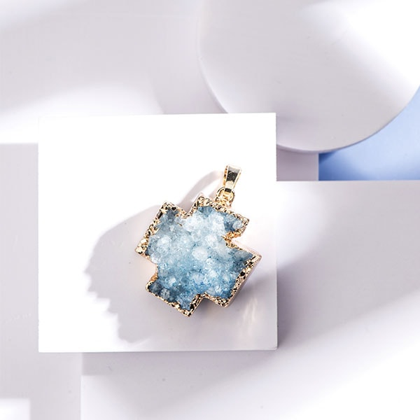 product thumbnail image for Druzy Crystal Cross