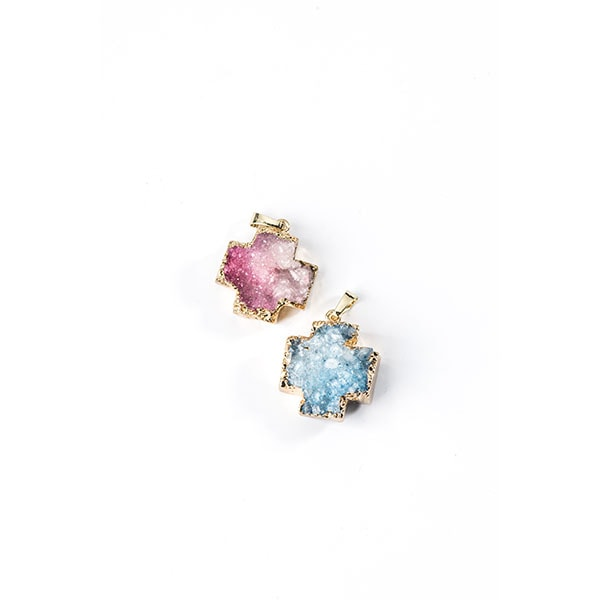 product image for Druzy Crystal Cross