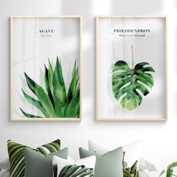 INOpets.com Anything for Pets Parents & Their Pets Botanical Wall Art