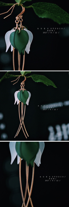 Leaf Earrings Nature Inspired Charm