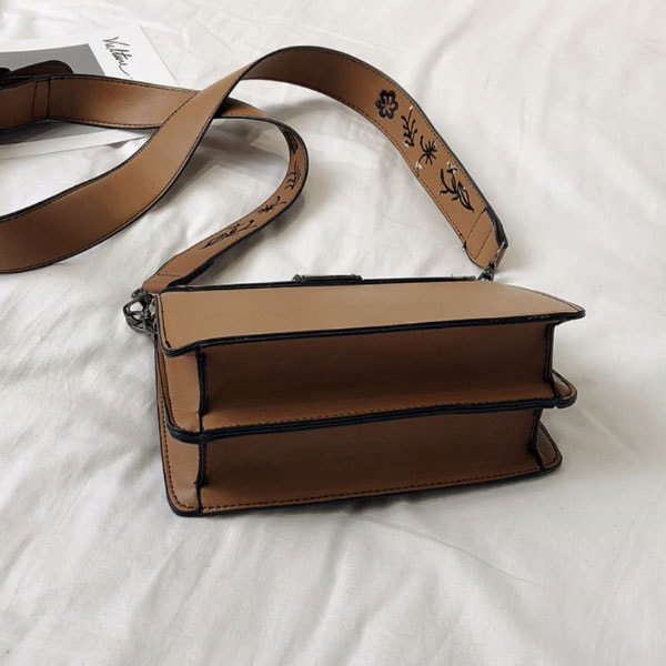 product image for Embroidered Buckle Handbag