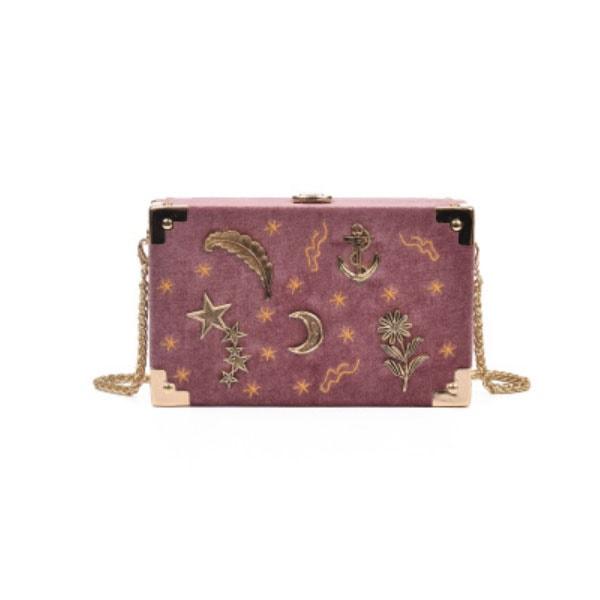 Velvet Moon Trunk Bag