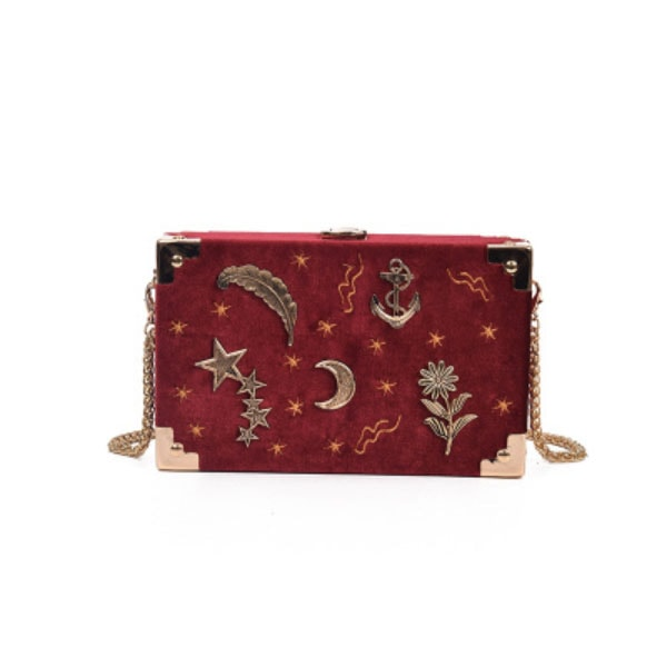 product thumbnail image for Velvet Moon Trunk Bag