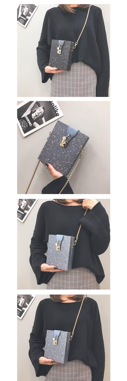 Chic Starry Night Crossbody Bag Fashion and Unique Design
