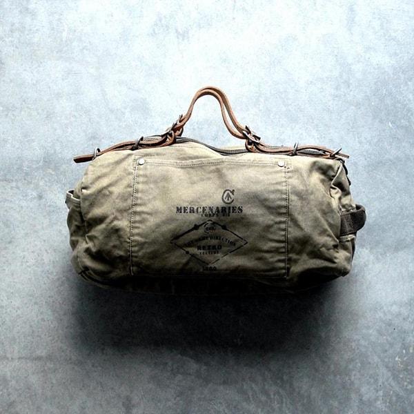 Military Style Duffle Bag