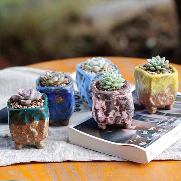 product image for Mini Footed Cube Pot