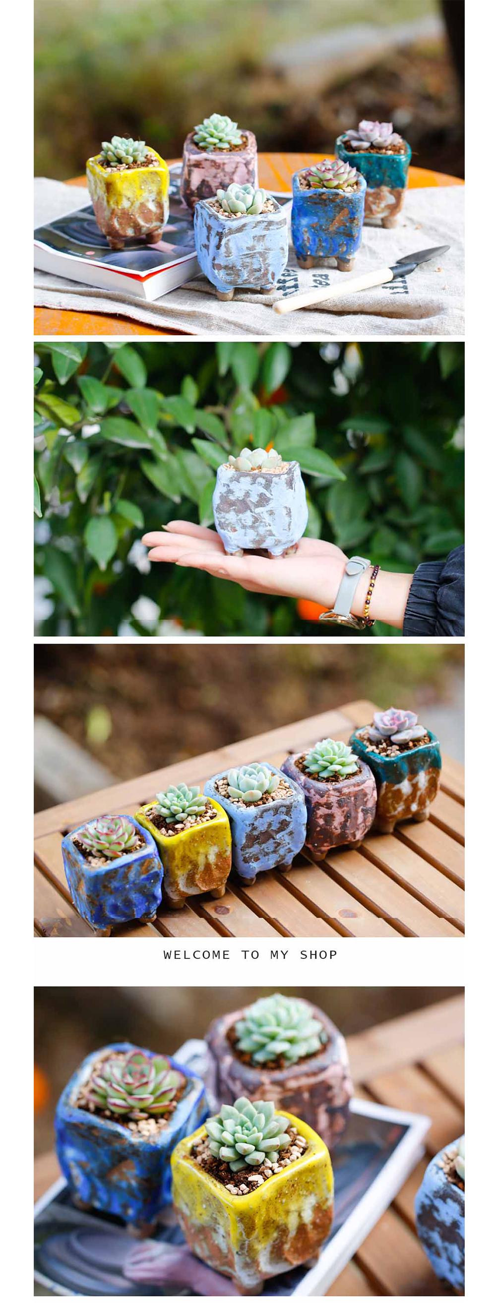 Mini Flower Pot Handmade Planter
