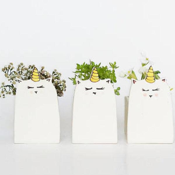 Unicorn Flower Pot