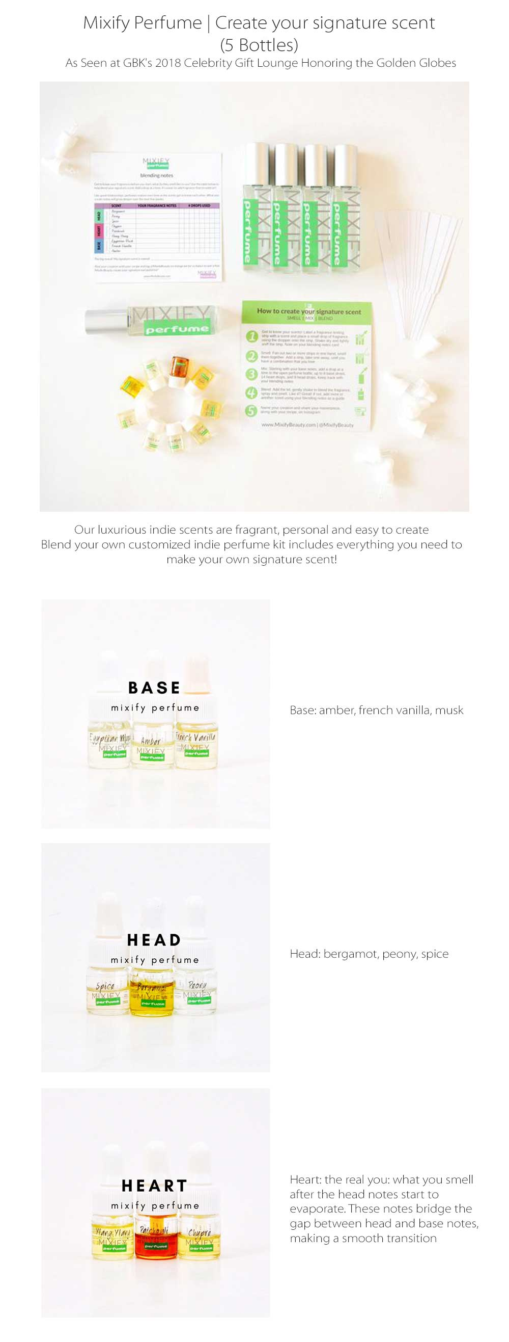 Mixify Perfume Create Your Signature Scent
