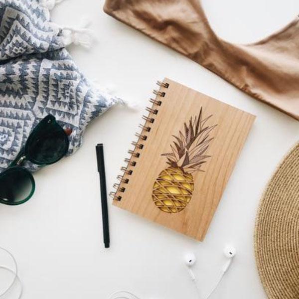 Wooden Journal