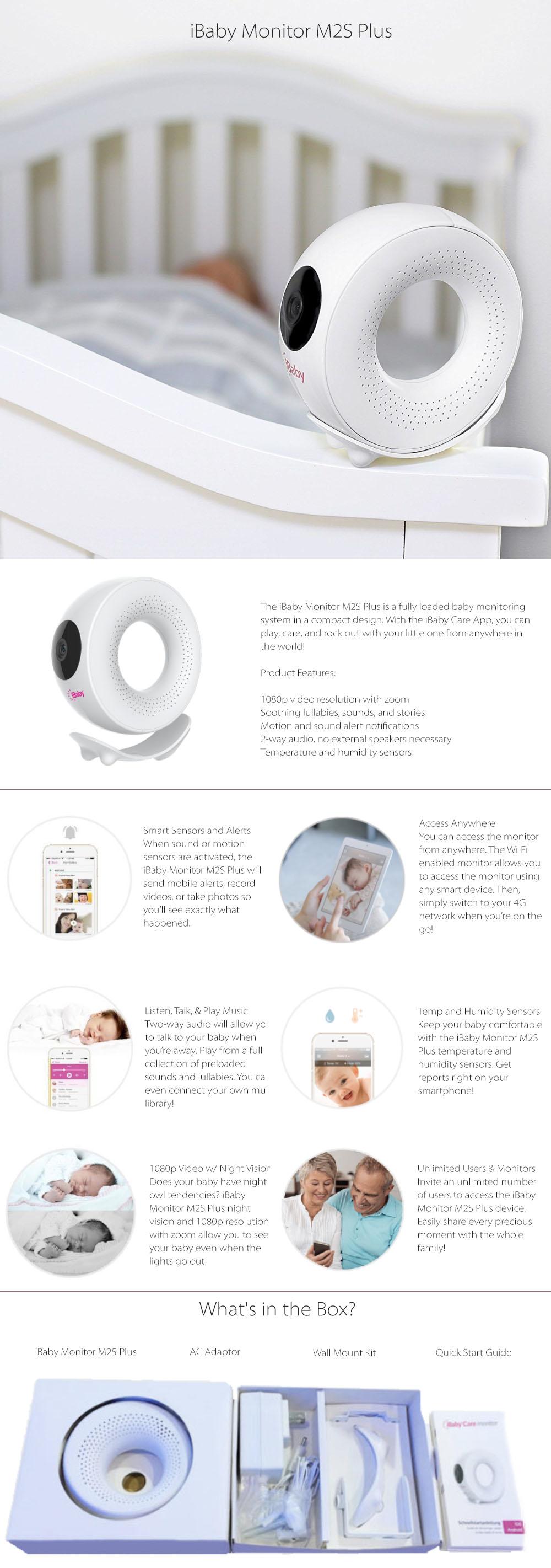 iBaby Monitor M2S Plus New Design