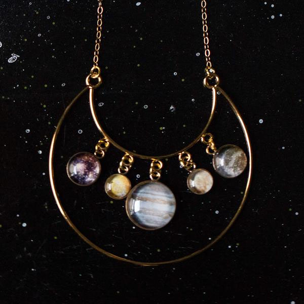 product image for Galilean Moons of Jupiter Necklace
