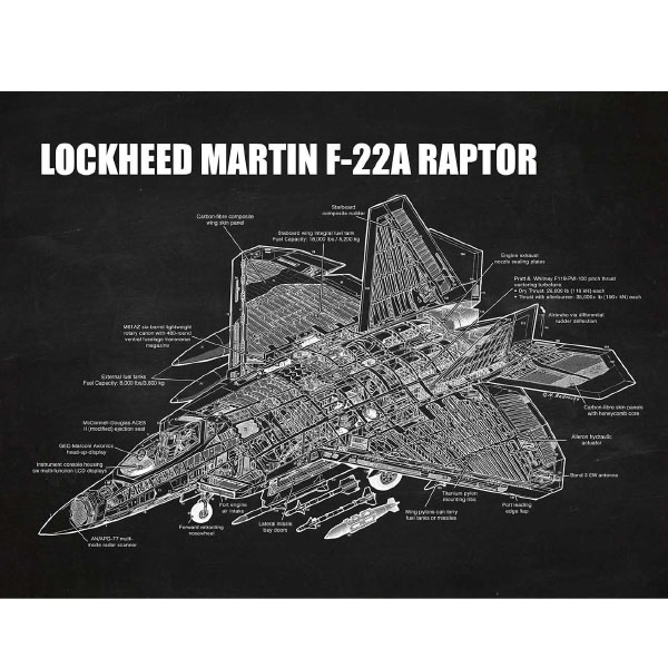 product image for Lockheed Martin F-22A Raptor