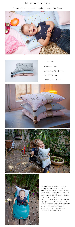 Children Pillow Handmade Pillow