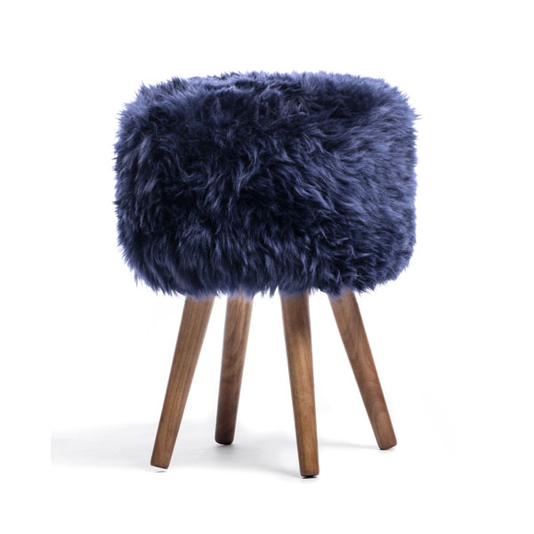 product image for New Zealand Sheepskin Stool