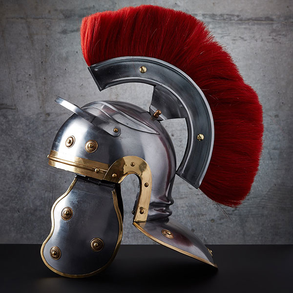 Custom Roman Imperial Helmet