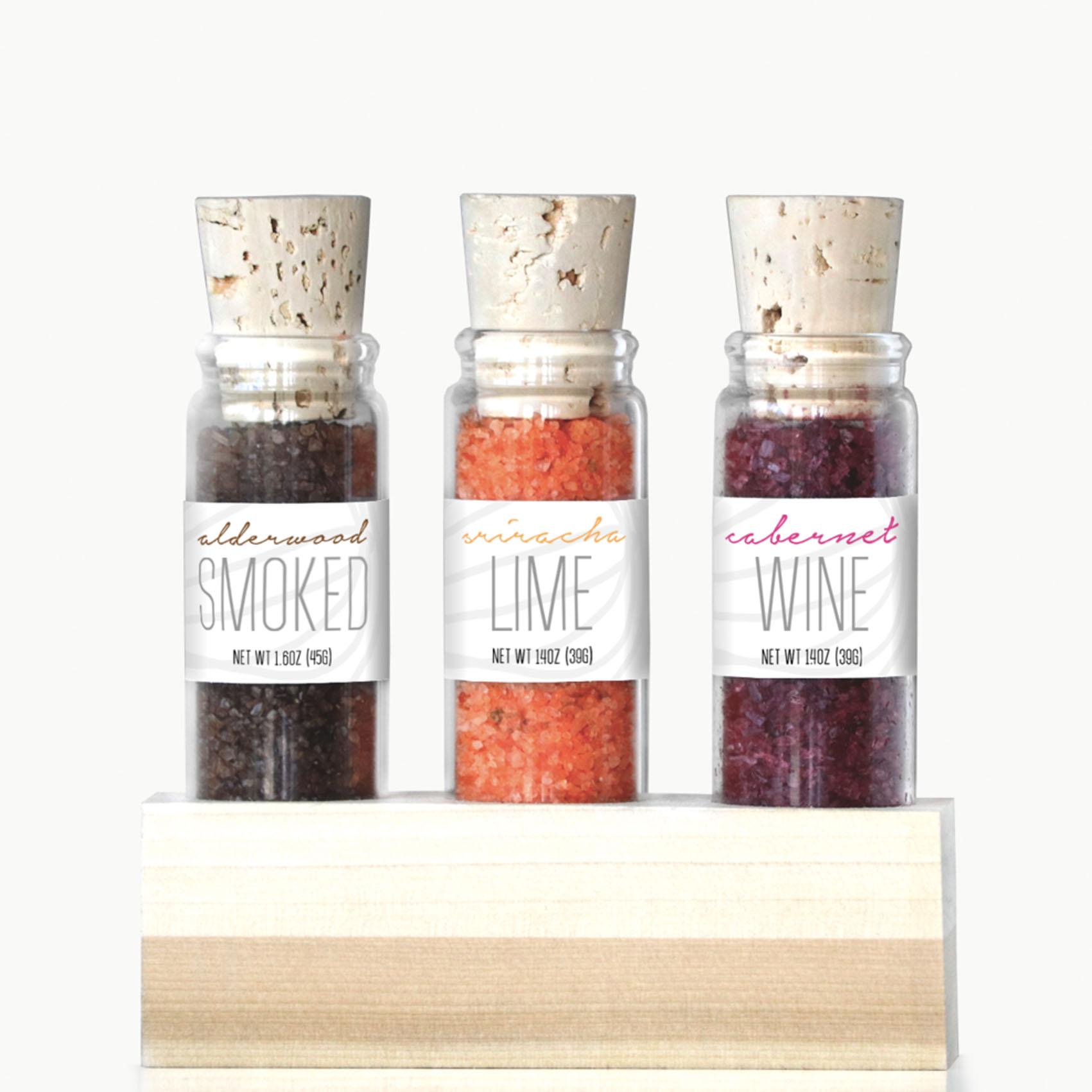 Artisan Infused Sea Salt Trio