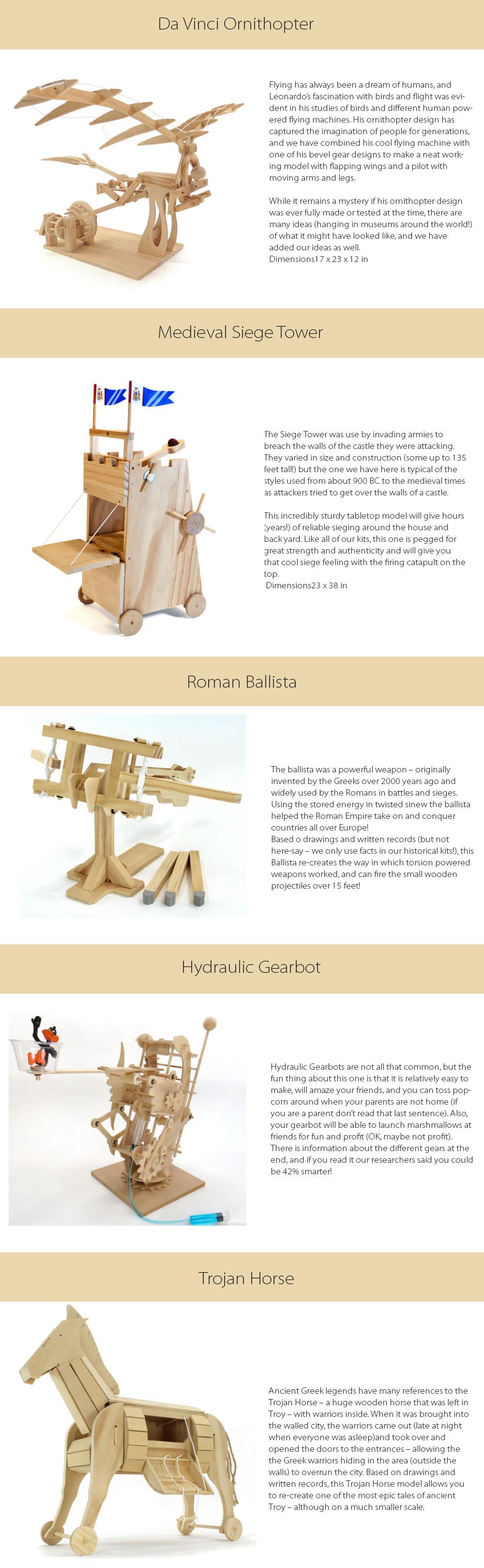Wooden Science Kit Series II Play &  Learn