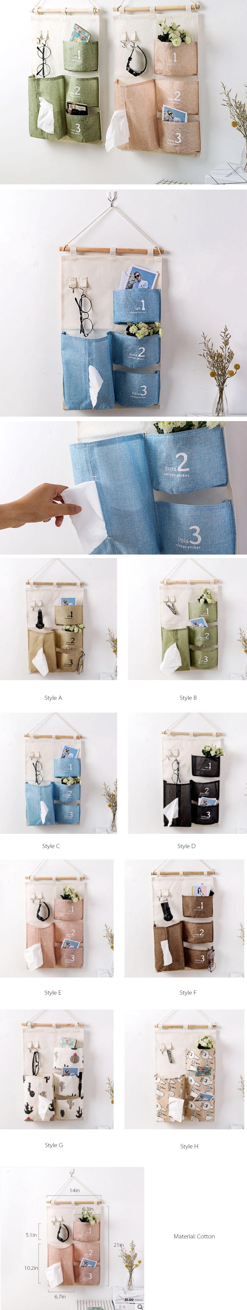 Hanging Storage Pockets Organize Your Accessories