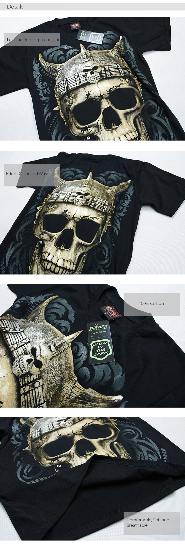 Metal Heaven T-Shirt Glow in The Dark