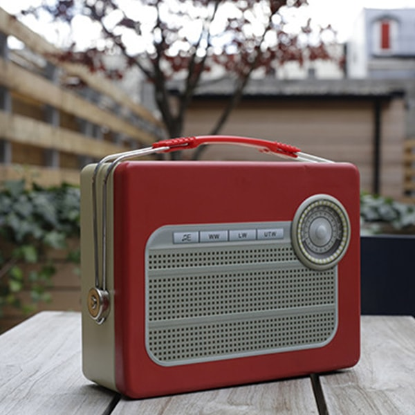 TV/Radio Tin Lunch Box