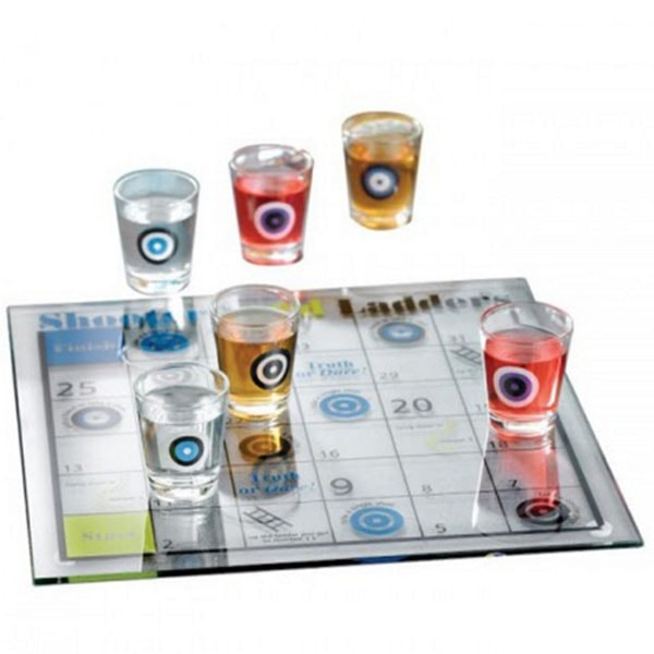 Shoots and Ladders Shot Glass Game Set