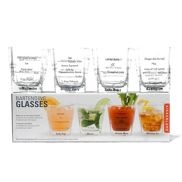 product image for Bartending Glasses Set Of 4