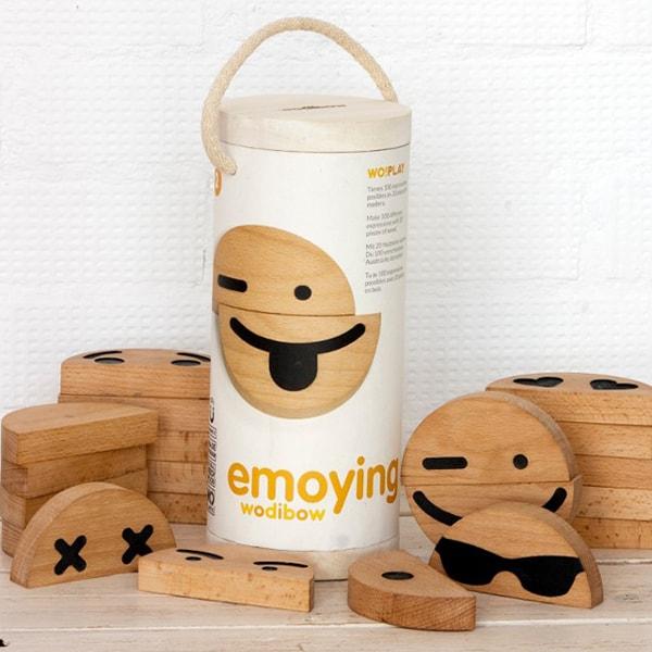 Wood Emoji (20 pcs) Set