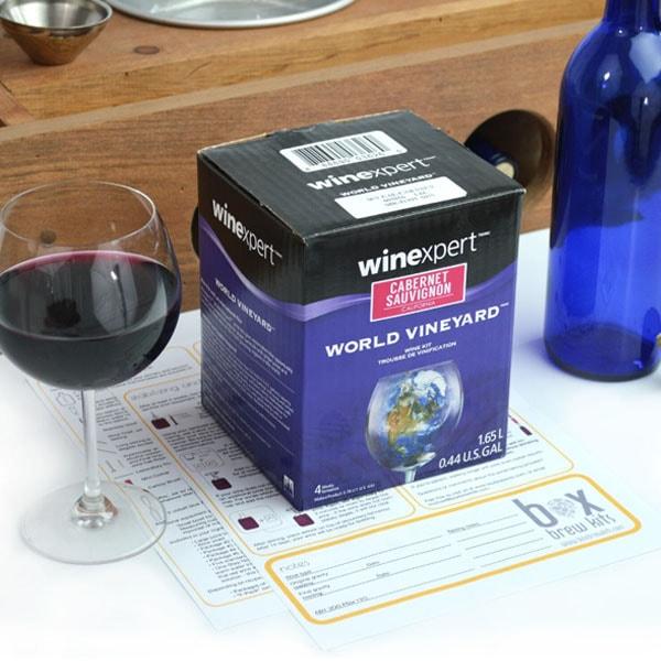 One Gallon Winemaking Ingredient Pack