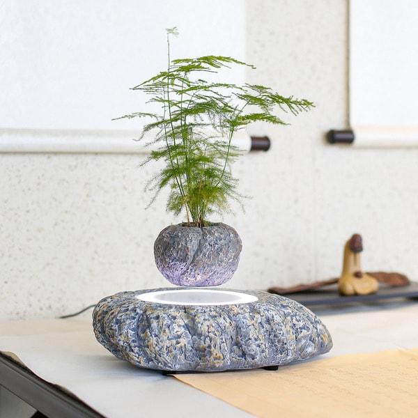 Magnetic Levitating Plant Pot